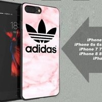 New Adidas.8o8 Pink Marble Best Case For iPhone 6 6+ 6s 6s+ 7 7+ 8 8+ X Cover
