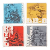 Star Wars™: The Force Awakens™ Characters Coaster Set of 4