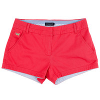 The Brighton Chino Short in Strawberry Fizz by Southern Marsh