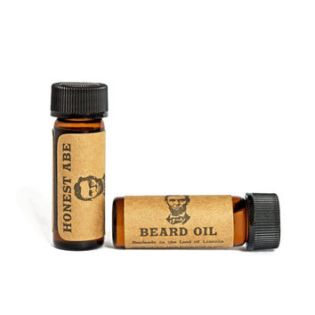 Honest Abe Beard Oil - Handmade - All Natural