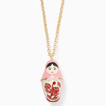 ooh la la dollface pendant | Kate Spade New York