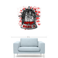 "Chief Keef - Bang 3 Mixtape Cover 20"" x 20"" Premium Canvas Gallery Wrap Home Wall Art Print"