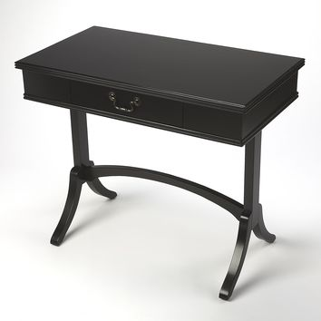 BUTLER ALTA BLACK WRITING DESK
