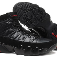 Women's Nike Air Jordan 9 All Black