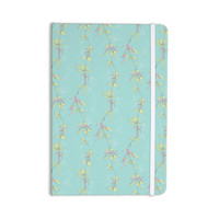 "Emma Frances ""Falling Florals"" Blue Aqua Everything Notebook"