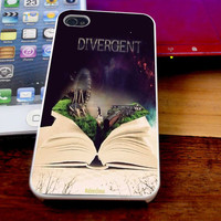 Beautiful Divergent Case For iPhone 4/4s iPhone 5s/5c and Samsung Galaxy S3/S4
