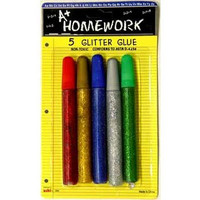 *A+HOMEWORK GLITTER GLUE- 5 PACK