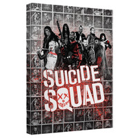 Suicide Squad - Splatter Canvas Wall Art