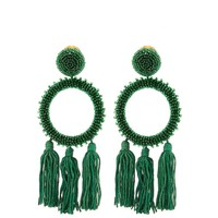 Bead-embellished clip-on earrings | Oscar De La Renta | MATCHESFASHION.COM US