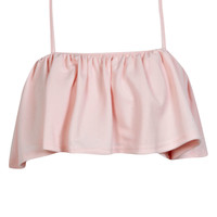 Ade Frill Layered Crop Cami