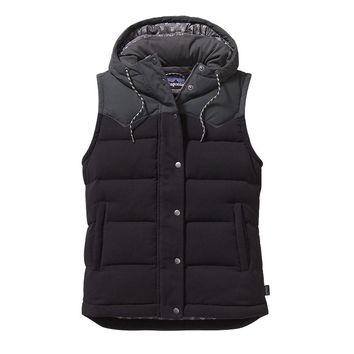 Patagonia Women's Bivy Hooded Vest | Black