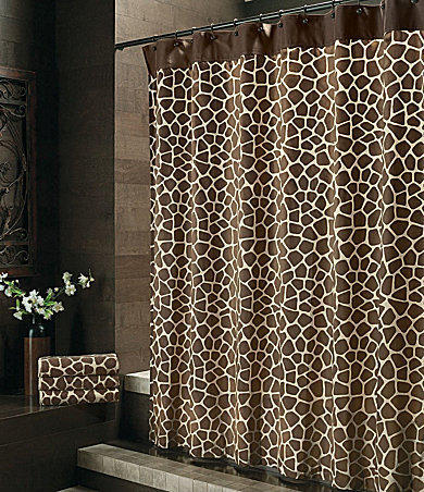 Bay Linens Quot Safari Quot Giraffe Shower From Dillard S