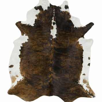 Dark Tri Special Color Brazilian Cowhide Rug