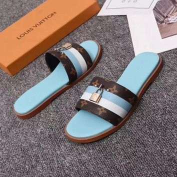 Louis Vuitton LV Women Casual Shoes Boots fashionable casual leather Women Heels Sandal Shoes