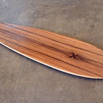 "40"" Concave Longboard skateboard ""Joe's Point"" Deck"
