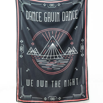 Dance Gavin Dance - We Own The Night Wall Flag