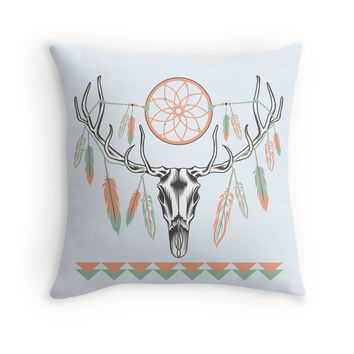 Tribal Deer Skull by sale