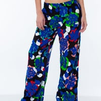 Floral Bloom Watercolor Pants