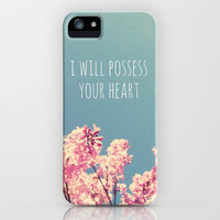 I will Possess Your Heart iPhone & iPod Case by Josrick