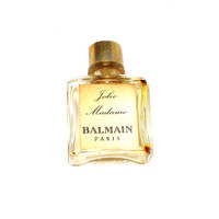 Balmain paris france vintage 1960 perfume bottle.  tiny  collectable and adorable