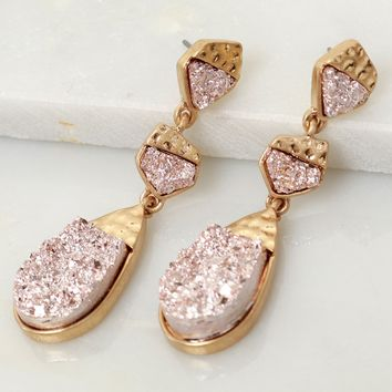 Fools Rose Gold Statement Earring