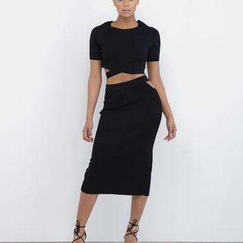 HIGH TIMES MAXI SKIRT SET