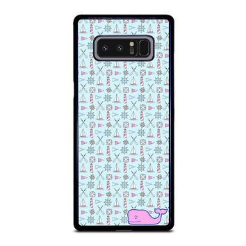 WHALE KATE SPADE PATTERN Samsung Galaxy Note 8 Case Cover