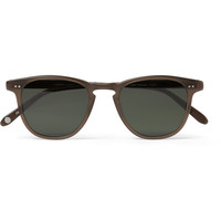 Garrett Leight California Optical Brooks D-Frame Polarised Sunglasses | MR PORTER