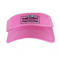 Simply Southern Classy Visor - Pink