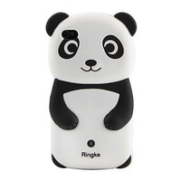 Lovely Panda Pattern Silicone Case for iPhone 4 and 4S