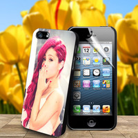 Beautiful Ariana Grande For Samsung Galaxy S3 / S4 and IPhone 4 / 4S / 5 / 5S / 5C Case
