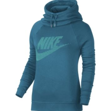 Nike Women's Sportswear Rally Funnel Neck Graphic Hoodie | DICK'S Sporting Goods