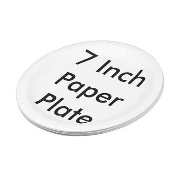 Personalized Paper Plate