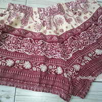 Red Elephant Aztec Ethnicpattern Print Beach Shorts Boho Tribal Clothing Ikat Summer Cotton Cute Women Clothes Unique Exotic items Gift
