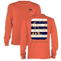 "Simply Southern ""Done In Love"" Long sleeve tee"