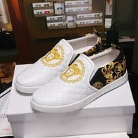 Versace Palazzo Slip On Sneakers Dsu6752 - Best Online Sale