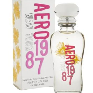 Aeropostale aero nyc 1987 perfume fragrance - 1.7 oz large bottle