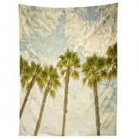Shannon Clark Palm Trees Tapestry