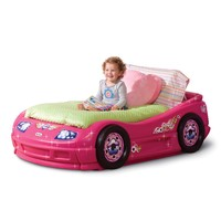 Little Tikes Princess Pink Toddlers Roadster Bed | www.hayneedle.com