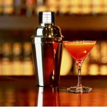 1PC Stainless Steel Cocktail Shaker Mini 200-500ML Match Eco-Friendly Wine Chiller Stopper For Martini Whisky Drinks Bar Tools