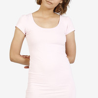Cece Fitted Dress - Pink