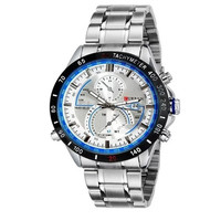 2015 new Curren Men's Stainless Steel Strap Watch 8149 navigator aviation Dial Analog = 1705983940