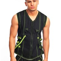 Amok Bio Vest : Rave Clothing and Outfits