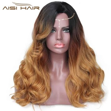 """I's a wig"" 20""  Long Wig  Synthetic Heat Resistant Full Hair Wigs For Women"