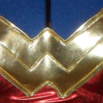 wonder woman costume chest piece sexy halloween cosplay