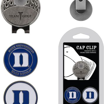 NCAA Duke Blue Devils Hat Clip & 2 Magnetic Golf Ball Markers