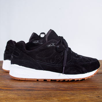 "Saucony Shadow 6000 Suede ""Irish Coffee Pack"" - Black Coffee"