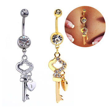 Accessory Stainless Steel Navel Rings Belly Ring [6768822087]