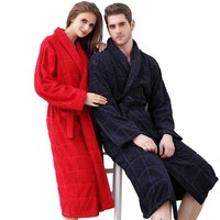 LMF78W 100% cotton toweled bathrobe