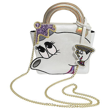 Danielle Nicole Disney Beauty And The Beast Mrs. Potts & Chip Crossbody Handbag
